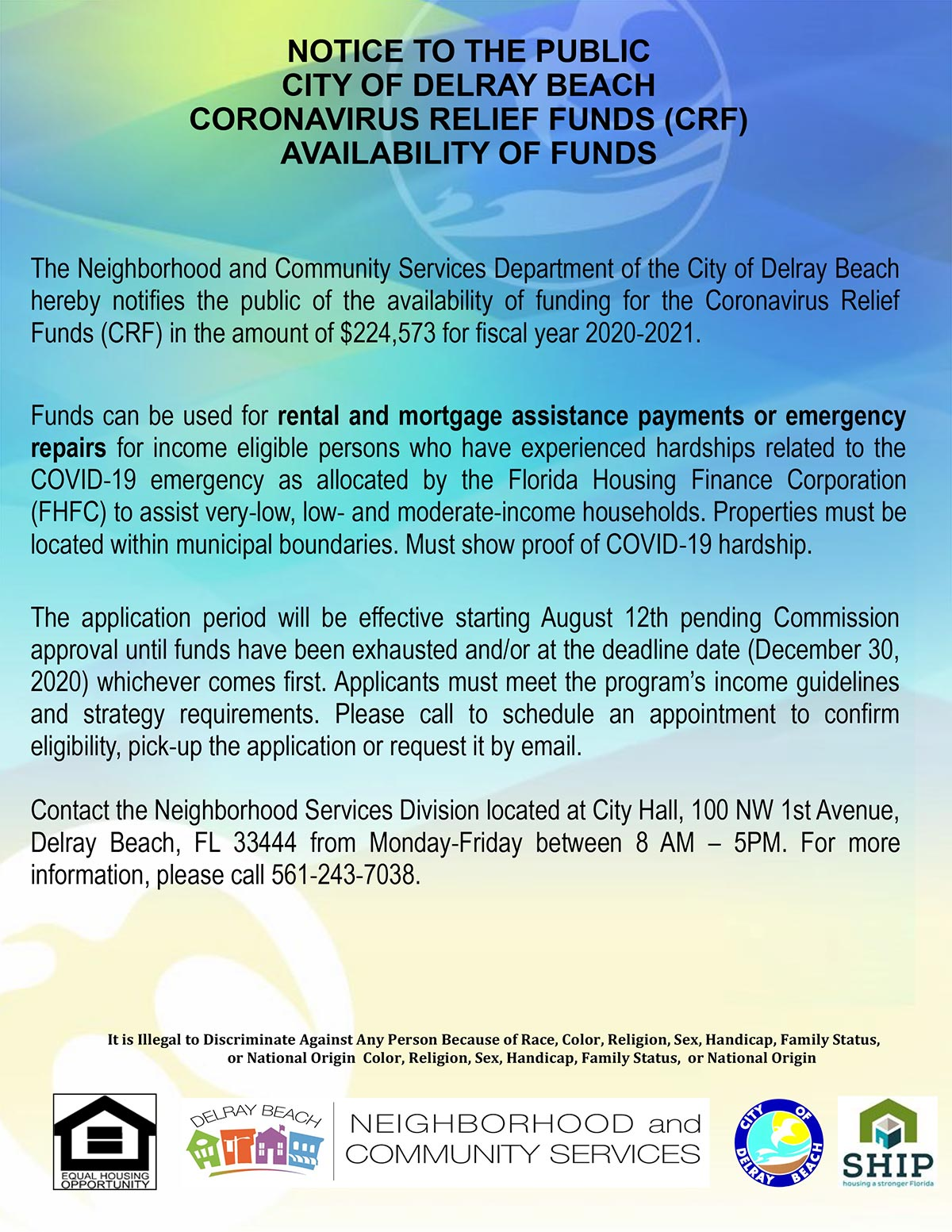 Notice-of-Funds